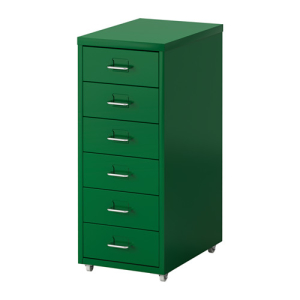helmer-drawer-unit-on-casters-green